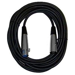 CBI MLC LowZ XLR Male to XLR Female Microphone Cable, 20 Feet