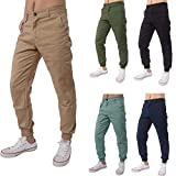 Realdo Clearance Casual Slack Solid Harem Sweatpants Loose Jogger Pant Sportwear Comfy for Men(X-Large,Khika)