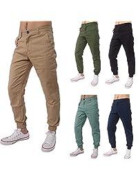 Realdo Casual Slack Solid Harem Sweatpants Loose Jogger Pant Sportwear Comfy for Men