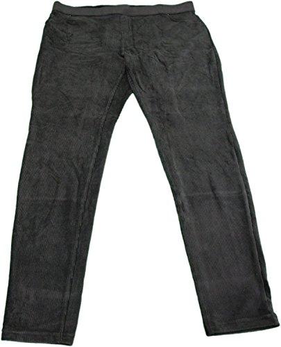 Daisy Pocket (June & Daisy Ladies Corduroy Leggings Pants Black (Medium))