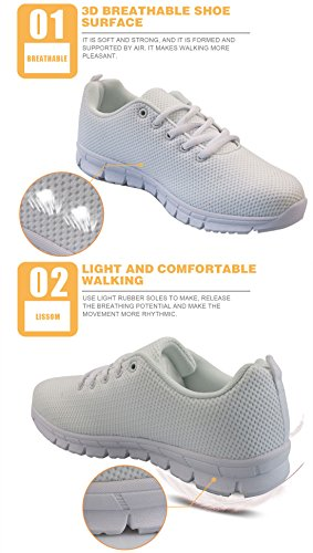Breathable Leaf Women Running Walk Colorful 3D DUOLIFU Shoes Sneakers Casual Sports Men Print 7qwUx40T