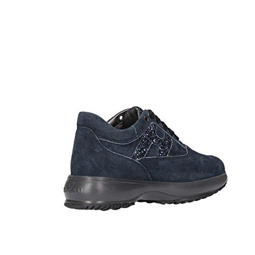 Hogan Junior HXC00N002409KEU810 Sneaker Kind Blau
