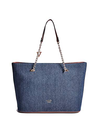 GUESS Factory Women's Mila Denim Tote