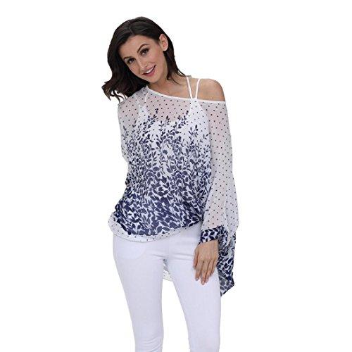 Bekleidung Donna SANFASHION Shirt155 Damen E SANFASHION Ballerine 1dzqwzv