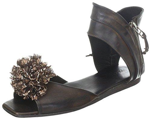 Area Forte - Sandalias de vestir de Piel Lisa para mujer Marrón Marrón / marrón claro Marrón - Marrón / marrón claro