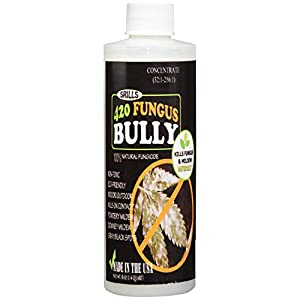 420 Fungus Bully - All Natural 25b Fungus Mildew Mold Killer Treatment for Plants, Medical Cultivation (8oz concentrate)