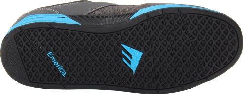 Emerica The Heritic, Men's Low Sports Shoes Grigio (Dark Grey/Light Blue)