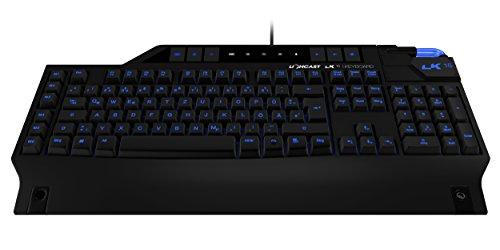 Lioncast LK15 Gaming Tastatur (LED, USB, n-Key-Rollover, 16 Millionen Farben)