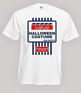 Tesco Value Halloween Costume Spoof Mens Fancy Dress Tshirt Size 5XL  sc 1 st  Amazon UK & Tesco Value Halloween Costume Spoof Mens Fancy Dress Tshirt Size 5XL ...