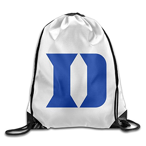 JOKEme Duke Blue Devils Logo Drawstring Backpacks/Bags - Duke Blue Devils Gym Bag