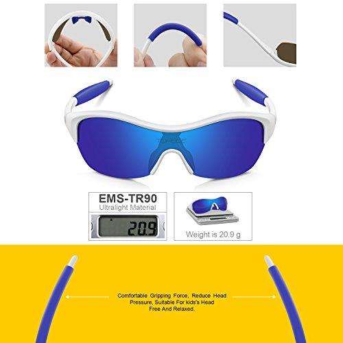 a47c239d48 TOREGE Tr90 Flexible Kids Sports Sunglasses Polarized Glasses - Import It  All