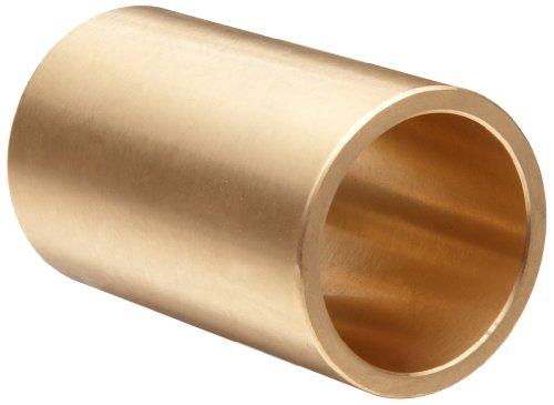 Boston Gear Bear-N-Bronz M121612 Plain Cylindrical Sleeve Bearing, SAE 660 Cast Bronze, Inch, 0.750