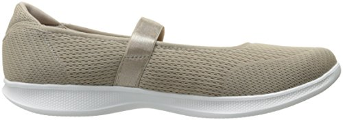 Zapatillas Para Caminar Skechers Mujeres Go Step Lite-blooming Taupe