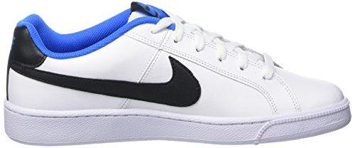 Nike Court Royale, Scarpe da Tennis Uomo Multicolore (White/Black/Photo Blue)