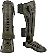 Venum Elite Shin Guards - Khaki camo - M