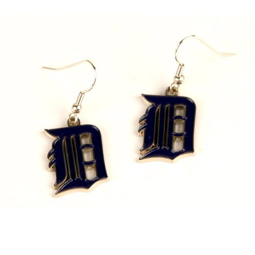 MLB Detroit Tigers Dangler Earrings -