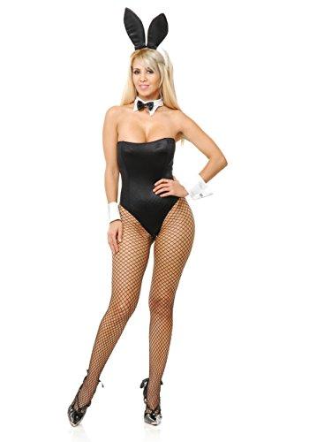 Playtime Bunny Costume - Small - Dress Size 5-7 (Tuxedo Playboy Bunny Costume)