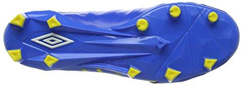 Umbro Herren Meduse Ii Elite Hg Fußballschuhe Blau (blu Elettrico / Bianco / Sfolgorante Giallo)