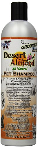 (Groomer's Edge Desert Almond Dog and Cat Shampoo, 16-Ounce)