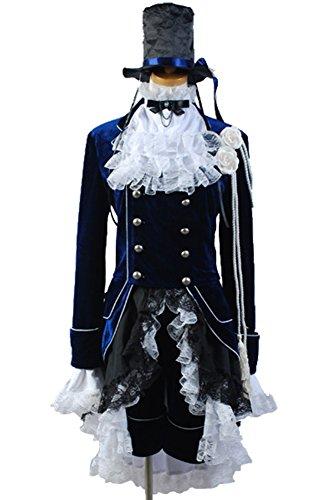 Ya-cos Halloween Black Butler Kuroshitsuji Ciel Phantomhive Cosplay Costume Sets for $<!--$85.00-->