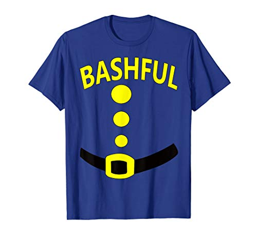 Bashful Dwarf Halloween Costume Gift Idea Bashful Dwarf Top T-Shirt