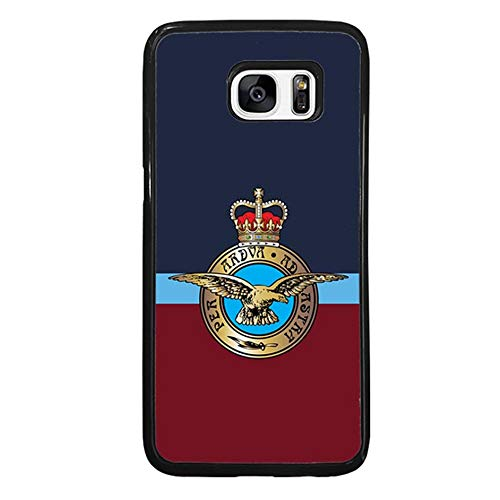 Skinsends Hippie UK Royal Air Force Phone Cover Compatible with Samsung S7 Edge, Hard Plastic Back Case Cover Compatible with Samsung Galaxy S7 Edge ()