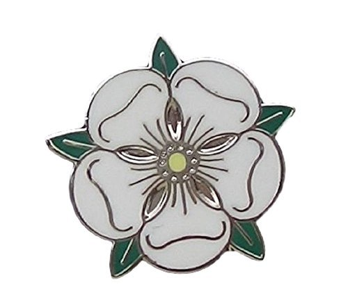 del de Broche Rosa Insignia de Insignia Departamento de Blanca Yorkshire fqgdYrfx