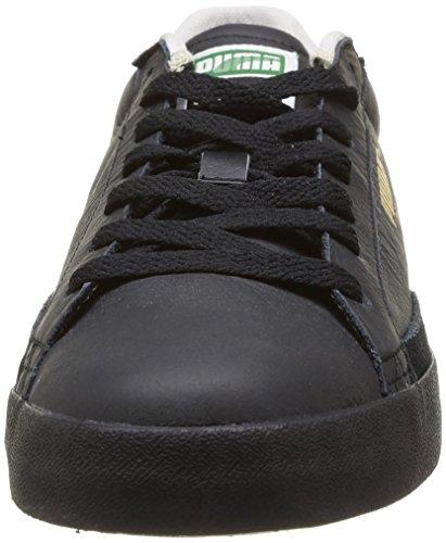 Puma Match Vulc - Zapatillas de Deporte de cuero hombre negro - Noir (Black/Black)