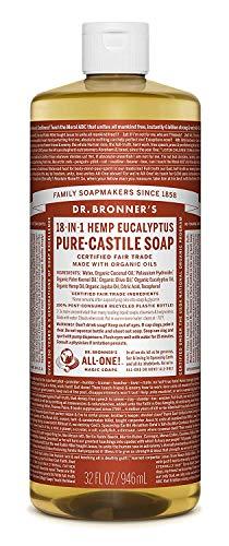 Dr. Bronner's Pure-Castile Liquid Soap - Eucalyptus, 32 oz