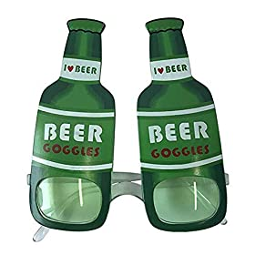 2Pack St. Patrick's Day Shamrock Eye Glasses Beer Costume Goggles Party Accessory