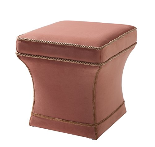 Jennifer Taylor Home 2333-930 Savannah Ottoman, Orange