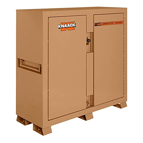 (Knaack 109 Jobmaster Cabinet with Double Doors on Front Side)