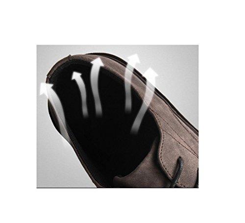 zmlsc Robe Point Point Sangle Chaussures Saison Antidérapante Cachemire Black Randonnée Sports Couleur Ronde Hommes Plage Occasionnels Doux xYY1qwrd