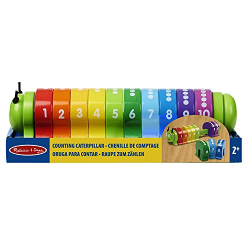 Melissa & Doug Counting Caterpillar - Classic Wooden