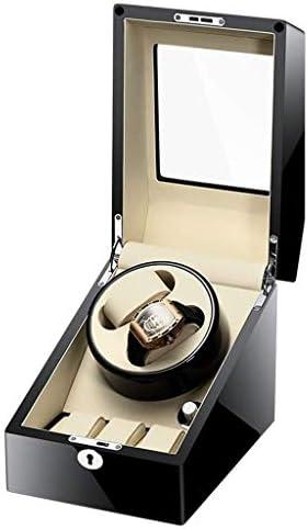 Boxsを巻きウォッチワインダーウォッチワインダー、家庭自動超静かなハイエンド2 + 3回し機械式腕時計コレクションモーター