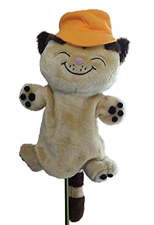 Wiltys - Funda para cabeza de palo de golf de gato, 1 ud., 460 cc, extragrande