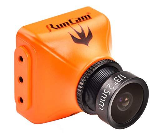 Runcam Swift 2 HankerMall RunCam Eagle 2 Pro FPV Camera 800TVL 2.1mm FOV 170 DC 536V Integrated MIC Global WDR OSD Audio CMOS 16 9 4 3 PAL NTSC Switchable for Racing Drone Multicopter orange (Micro Swift 3 V2)