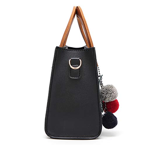 L'épaule color Black Main À La Décontracté Simple Vague Black Mode Dhrfyktu Femme Petit Sac Carré Bandoulière fPfZBq