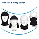 Mayround Balaclava Face Masks for Men Women, [3 Pack] Windproof Ski Mask, Breathable Moisture Wicking Tactical Balaclava, Summer Sun Hood for Outdoor Sports,Cycling,Motorcycle,Hiking,Skiing