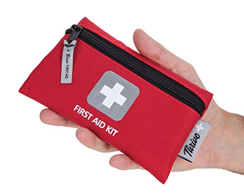 First Aid Kit – 66 Pieces – Small and Light Bag - Packed with Medical Supplies for Emergency, Survival, Hiking, Backpacking, Camping, Travel, Car & Cycling. Be prepared at Home - Travel First Kit Aid
