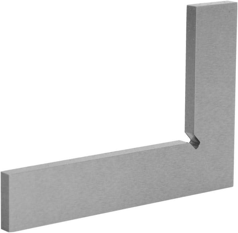 75 x 50mm Regla de /ángulo recto de acero inoxidable Alta precisi/ón 2 bordes rectos 90 grados para medici/ón de borde plano y cuadrado