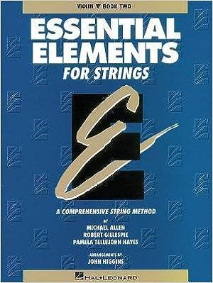 Book [(Essential Elements for Strings - Book 2 (Original Series): Violin )] [Author: Professor Robert Gillespie] [Jun-1995]