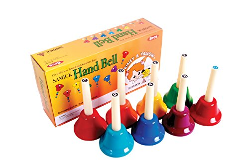 Samick Handbell SHB-8 Note Metal Colorful Kid Children Musical Toy Made in Korea by Samick