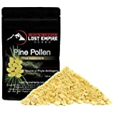 Organic Pine Pollen Powder - Broken Cell Wall for Optimal Absorption - Nootropic Herb - Packed with Amino Acids, Antioxidants, Vitamins and More - Vegan and Paleo Friendly, Gluten Free (50 g)