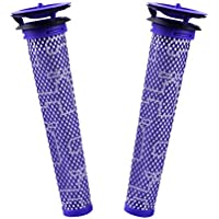 AxPower 2 Pack Replacement Pre Filters for Dyson DC58 DC59 DC61 DC62 DC74 V6 V7 V8 Vacuum Cleaners Replaces Part # 965661-01 2 Filters