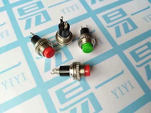 SUNXIN 10 X Mini-interruptor De Boton Momentaneo Para La Aficion Modelo Ferroviario