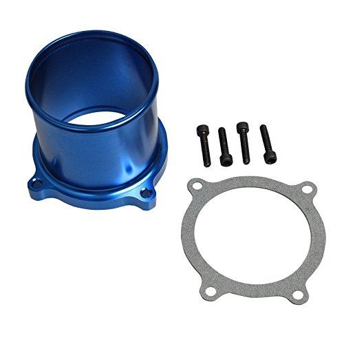 Throttle Valve Delete Kit Fits 07-17 Dodge Ram Cummins Diesel EGR 6.7L Blue