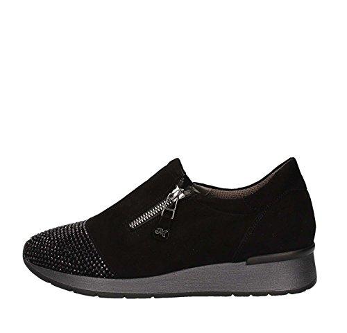 Melluso R25013 Ballet Pumps & Loafers Women Black 40 Xv1ZO