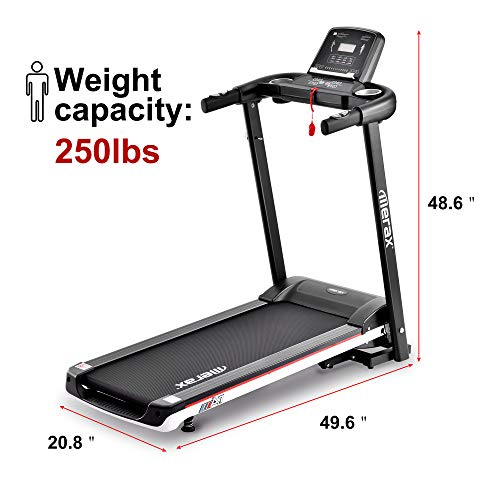 Merax Folding Electric Treadmill Easy Assembly Motorized Power Running Machine Fitness by Merax (Image #1)