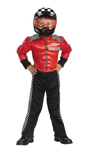[Morris Costumes Boy's TURBO RACER 4-6] (Infant Racing Halloween Costume)